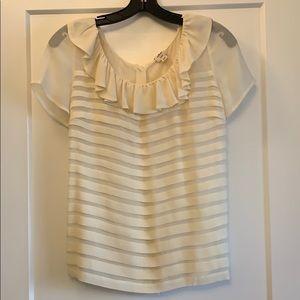 Wilfred silk cream blouse
